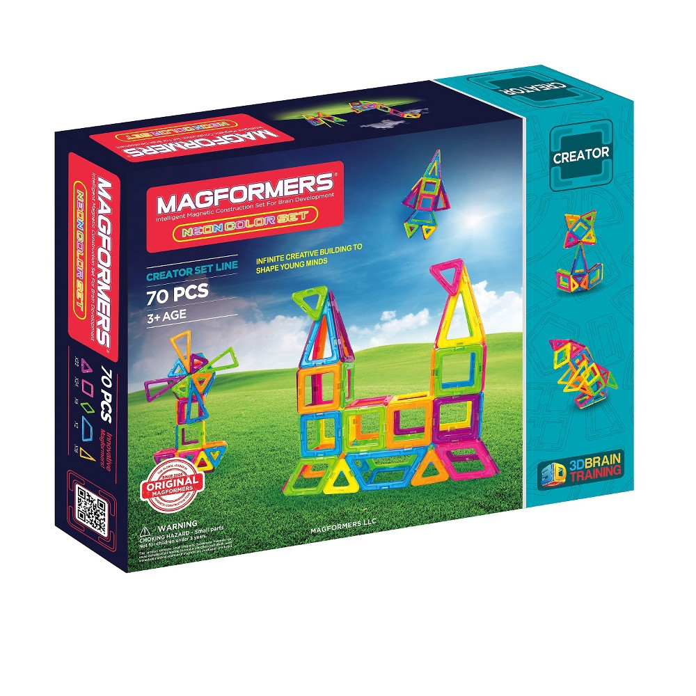 Magformers Neon 70 PC Set