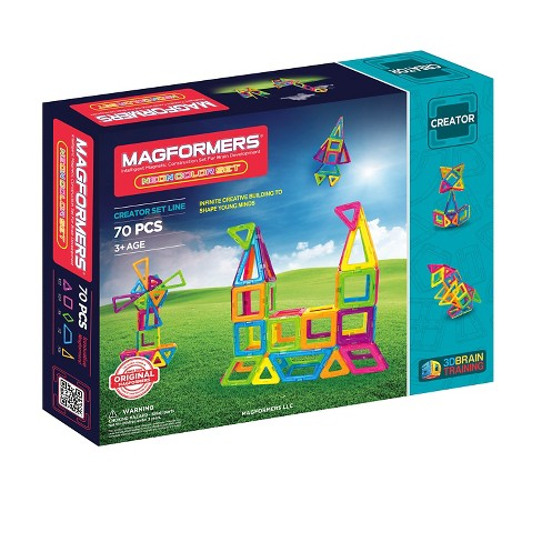 Magformers Neon 70 PC Set - image 1 of 4