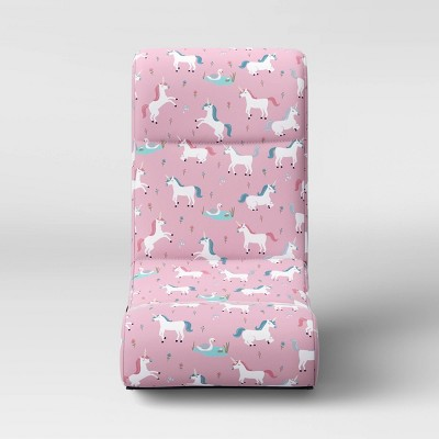 Kids' Gaming Chair Unicorns Pink - Pillowfort™