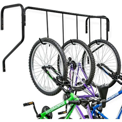 RaxGo 5 Bike Wall Mounted Bicycle Storage Hanger, Garage Bike Rack