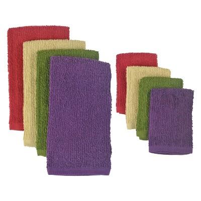 2 Sets of 4 Kitchen Towels - Design Imports