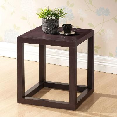 Hallis Modern Accent Table and Nightstand Wood/Brown - Baxton Studio