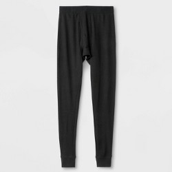 Men's Micro Thermal Pants - Goodfellow & Co™ Black