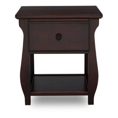 Delta Children Lancaster Nightstand - Dark Chocolate