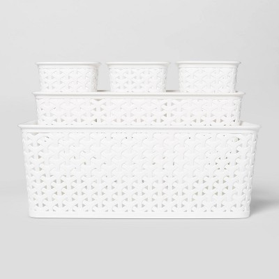 5pc Y-Weave Value Pack White - Room Essentials™