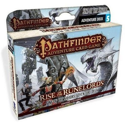 Rise of the Runelords #5 - Sins of the Saviors Adventure Deck (1st Printing) Box Set