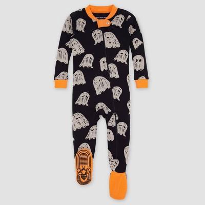Burt's Bees Baby® Baby Gleeful Ghosts Footed Pajama - Orange