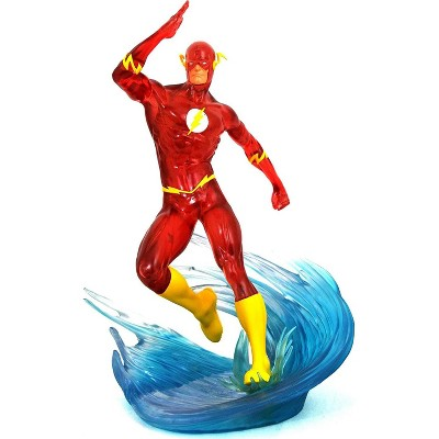 Diamond Select DC Gallery Exclusive 9 Inch PVC Statue | Speed Force Flash