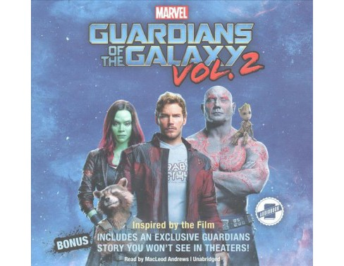 Marvel's Guardians of the Galaxy, Vol. 2 ; Library Edition : Library Edition (Unabridged) - image 1 of 1