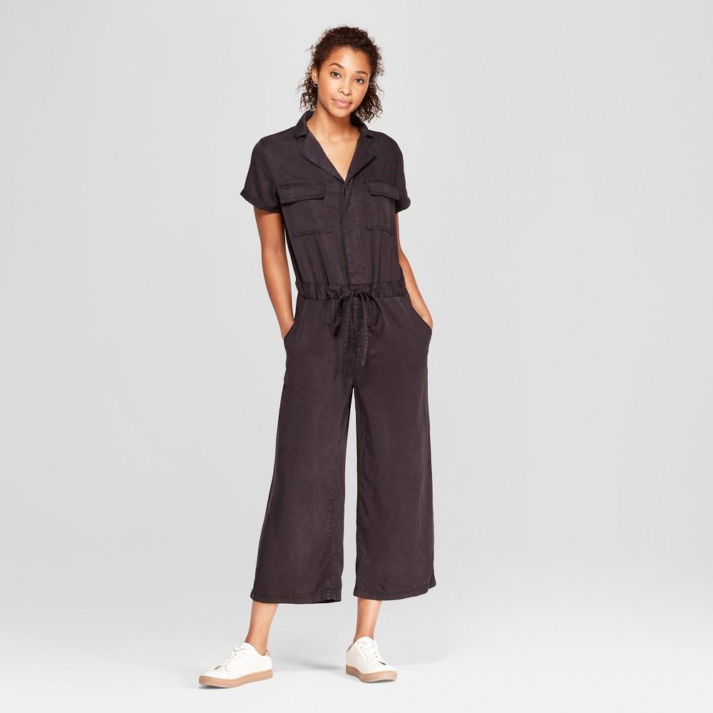 Women's Wide Leg Jumpsuit - Universal Thread Black Xxl
