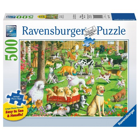 Ravensburger At The Dog Park Puzzle 500pc - image 1 of 2