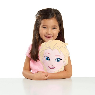 Frozen Elsa Character Head Plush