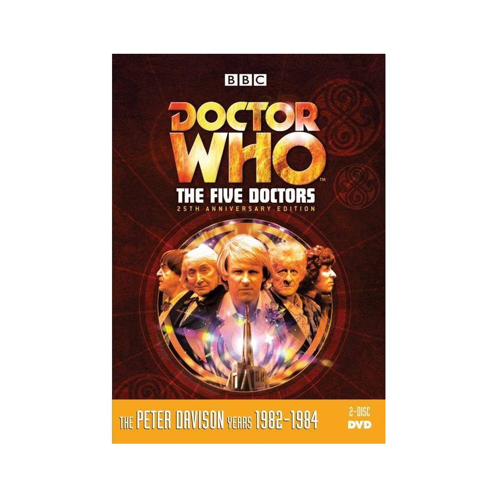 Dr Who The Five Doctors Dvd 2019