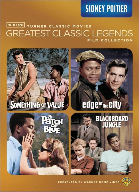 Tcm greatest:Legends sidney poitier (DVD) - image 1 of 1