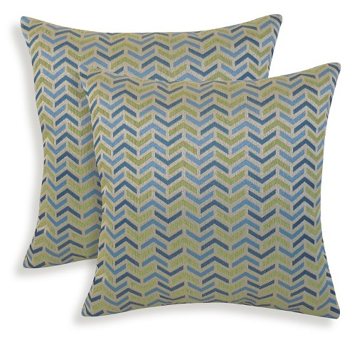 2pk Mona Woven Geometric Throw Pillow - Essentials - image 1 of 1