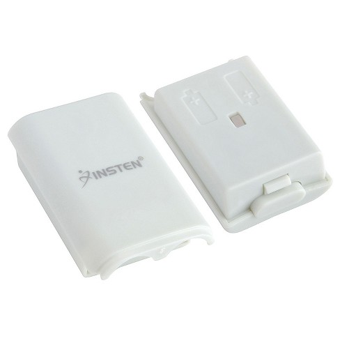 INSTEN Wireless Controller Battery Pack Shell compatible with Microsoft Xbox 360, White - image 1 of 3