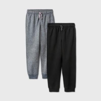 Boys' 2pk Fleece Jogger Sweatpants - Cat & Jack™