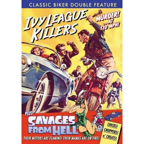 Classic Biker Double Feature: Ivy League Killers / Savages From Hell (DVD) - image 1 of 1