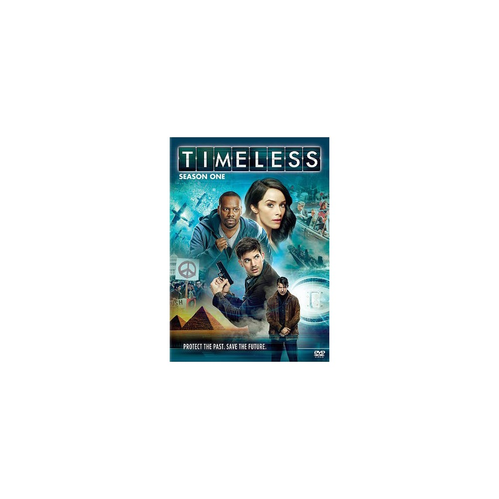 Timeless:Season One (Dvd)