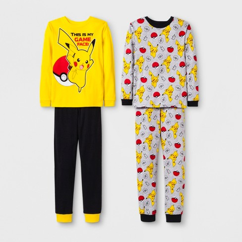d29fead498 Boys  Pokemon 4pc Pajama Set   Target