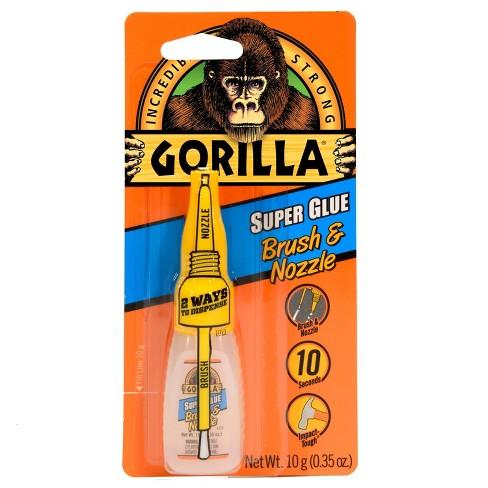 Gorilla Glue Review >> Gorilla Glue 10g Super Glue Clear
