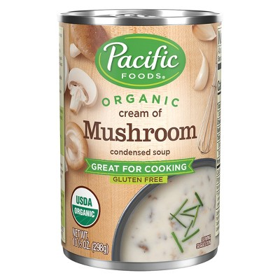 Pacific Foods Organic Condensed Cream of Mushroom Soup - 10.5oz