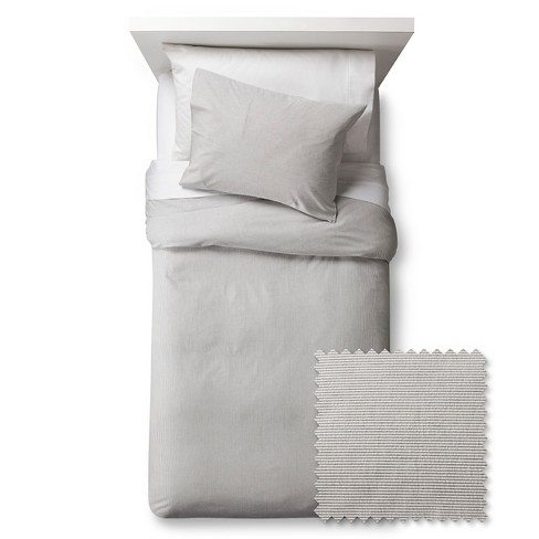 Seersucker Duvet Cover Set - Pillowfort™ - image 1 of 2