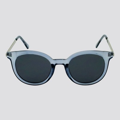 Women's Crystal Round Sunglasses - A New Day™ Blue