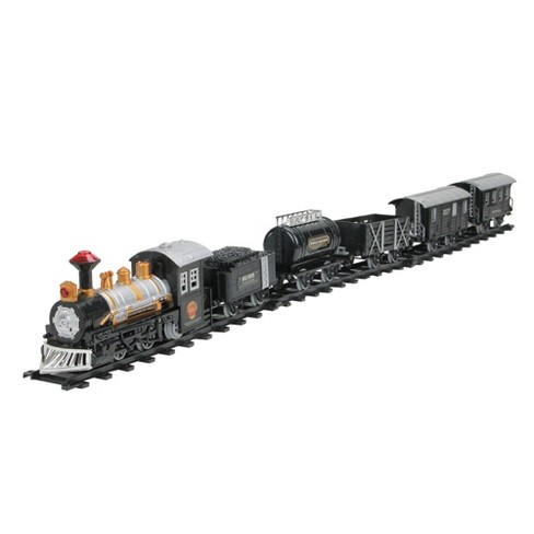 Northlight 17-Piece Consumate Model Battery Operated Lighted and Animated Classic Train Set with Sound - image 1 of 4