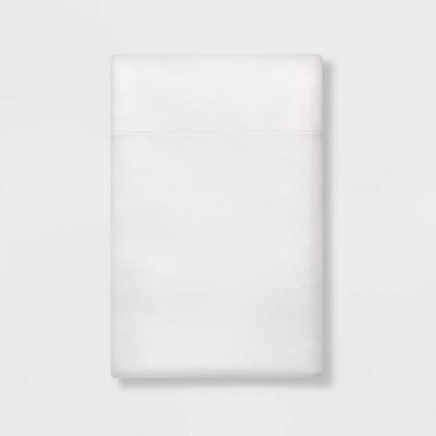Standard Satin Pillowcase White - Room Essentials™