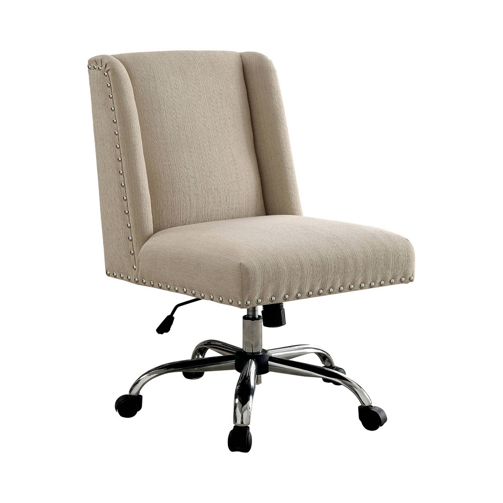 Barth Contemporary Office Chair Ivory Cumin - Homes: Inside + Out