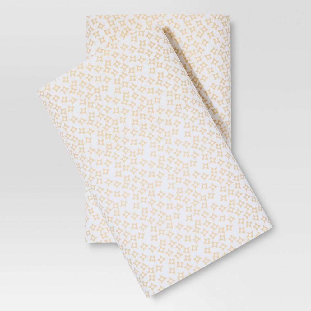 Classic Pillowcase Set (Standard) Jonquil Star 300 Thread Count - Threshold