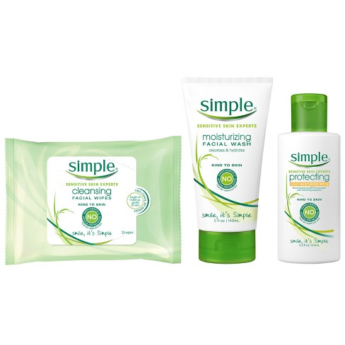 Simple Everyday Face Regimen Kit - 3pc - image 1 of 1