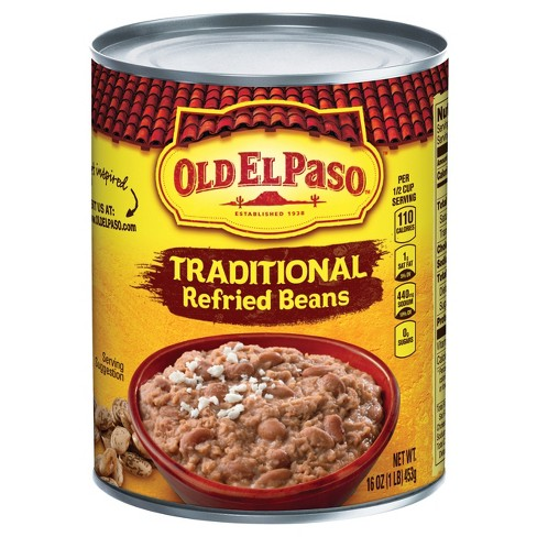 Old El Paso® Traditional Refried Beans 16oz - image 1 of 1