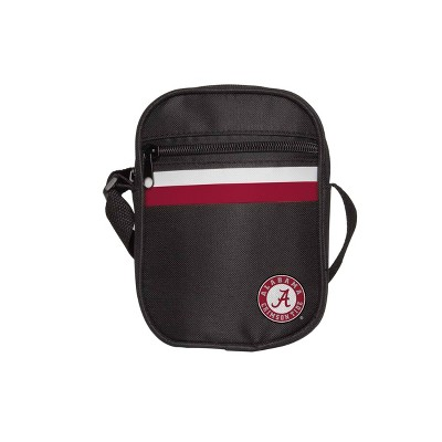 NCAA Alabama Crimson Tide Black Mini Messenger Bag