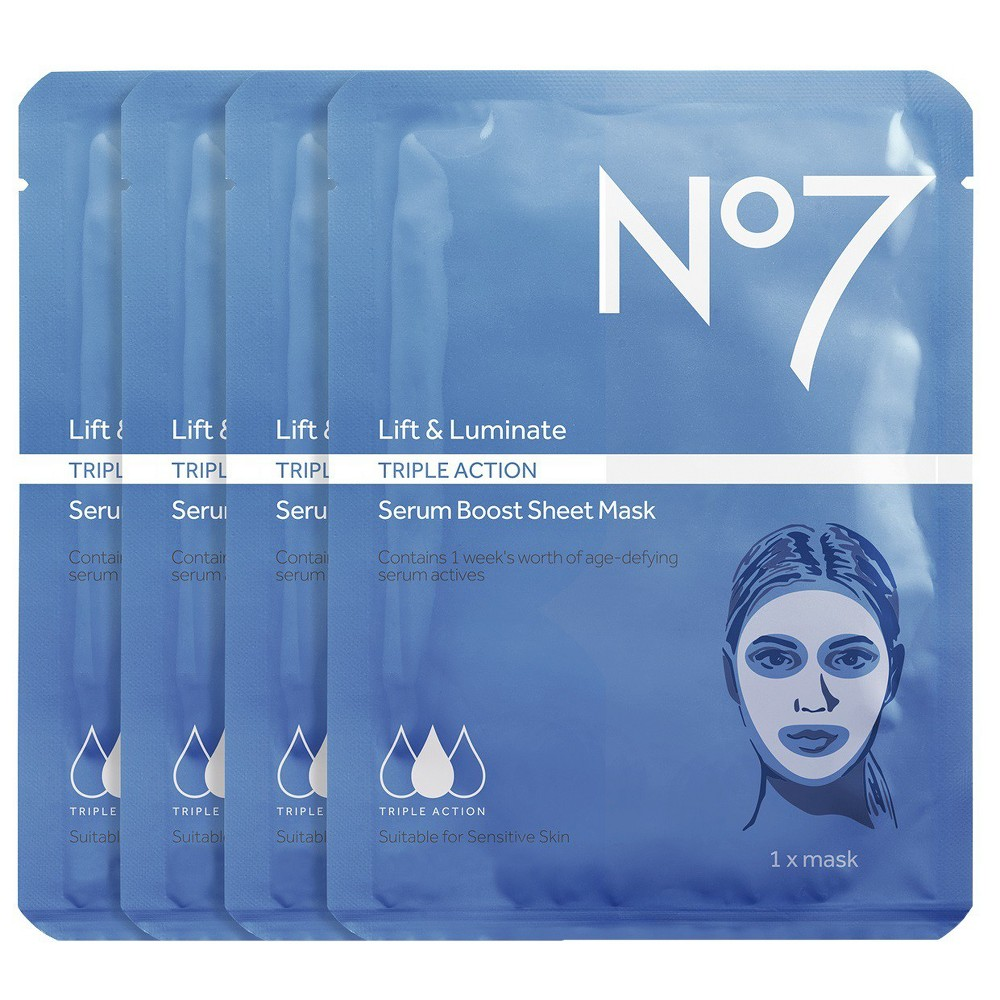 No7 Lift Luminate Triple Action Serum Boost Sheet Mask Value