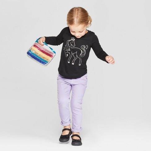 6f369ab83 Toddler Girls  Long Sleeve  Pegasus  Graphic T-Shirt - Cat   Jack™ Black.  Shop all Cat   Jack