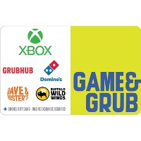 $100 Game and Grub Gift Card Email Delivery Deals