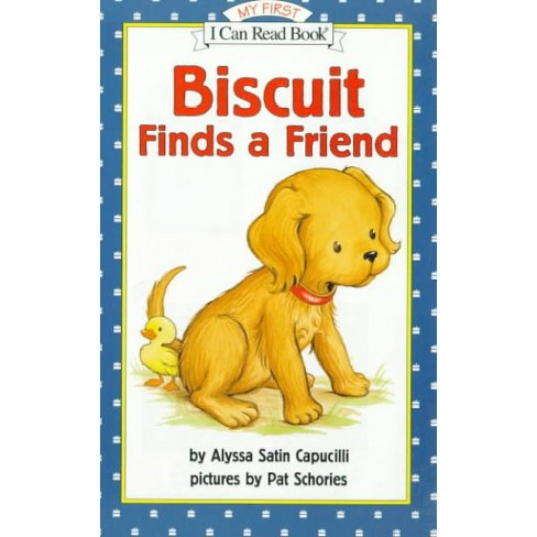 Biscuit Finds a Friend - (My First I Can Read) by  Alyssa Satin Capucilli (Paperback) - image 1 of 1