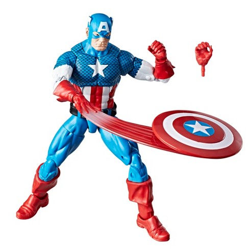 "Marvel Retro 6"" Collection Captain America Figure - image 1 of 2"