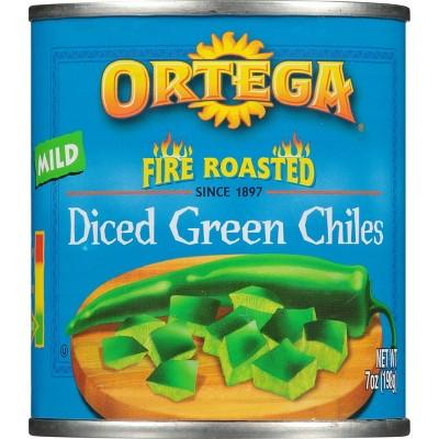 Ortega&#174 Fire Roasted Diced Green Chiles 7oz