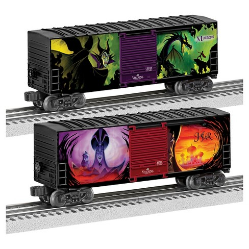 Lionel Disney Villains Hi-Cube Boxcars 2-Pack - image 1 of 3