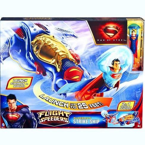 Superman Man of Steel Flight Speeders Kryptonian Strike Ship Action Figure Vehicle - image 1 of 3