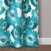 Julie Floral Insulated Grommet Blackout Window Curtain Panels - Lush Decor - image 3 of 4