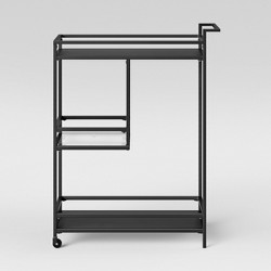 Glasgow Metal Bar Cart Black - Project 62™