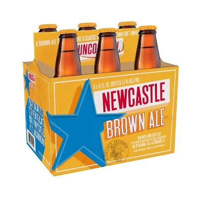 Newcastle Brown Ale - 6pk/12 fl oz Bottles