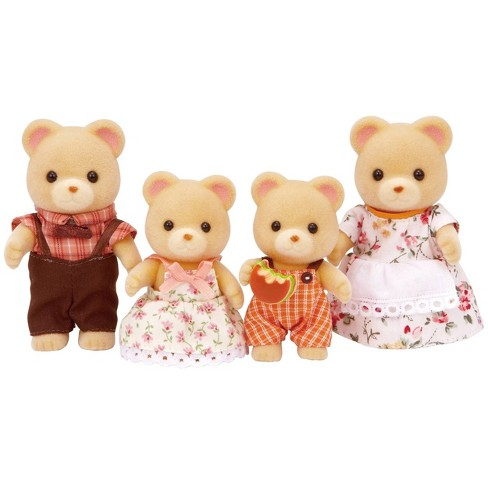 Calico Critters Cuddle Bear Family - image 1 of 4