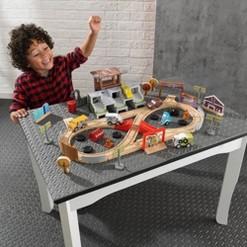 Kidkraft Disney Pixar Cars 3 50 Piece Thunder Hollow Toy Car Race Track Set