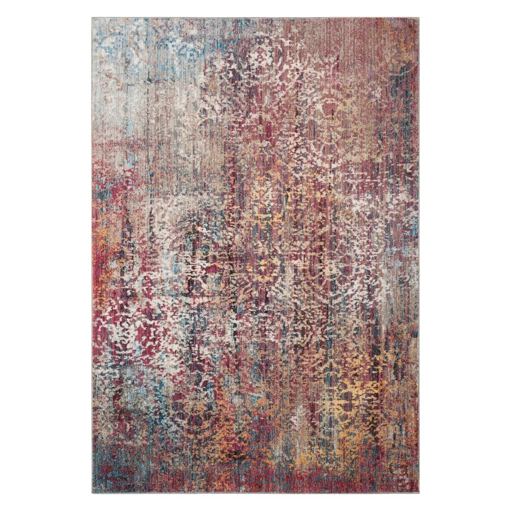 3'X5' Medallion Loomed Accent Rug Pink - Safavieh