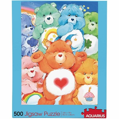 NMR Distribution Care Bears 500 Piece Jigsaw Puzzle